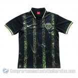 Camiseta Polo del Paris Saint-Germain 19-20 Negro y Amarillo