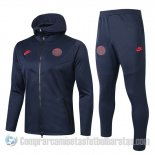 Chandal con Capucha del Paris Saint-Germain 2019-20 Negro