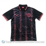 Camiseta Polo del Paris Saint-Germain 19-20 Negro y Rosa