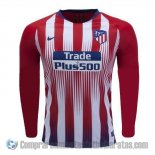 Camiseta Atletico Madrid Primera Manga Larga 18-19