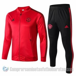 Chandal del Manchester United 2019-20 Rojo