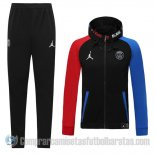 Chandal con Capucha del Paris Saint-Germain 20-21 Azul y Rojo
