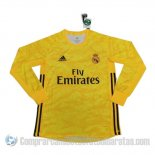 Camiseta Real Madrid Portero Primera Manga Larga 19-20